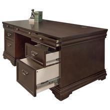 See Details - Double Pedestal Desk
