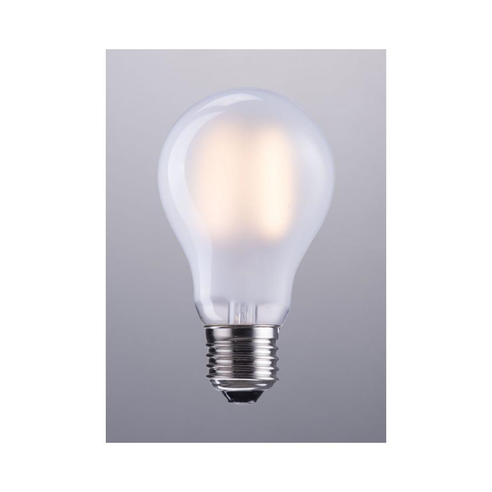 E26 A19 8w Led 100 X 60 Mm Frosted White
