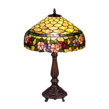 View Product - Tiffany-style Peony Table Lamp
