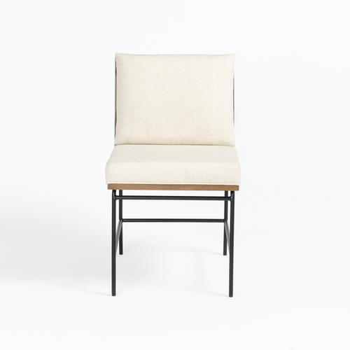 Crete Dining Chair-savile Flax