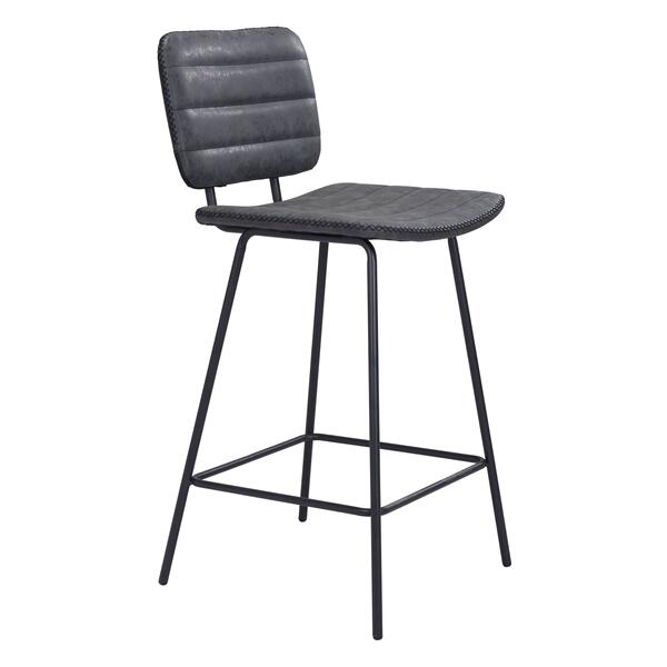 See Details - Boston Counter Chair Vintage Black