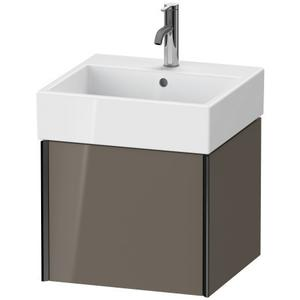 Duravit - Vanity Unit Wall-mounted, Flannel Gray High Gloss (lacquer)