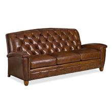 6155-3-T-L FRENCH CURVE SOFA WITH LACING