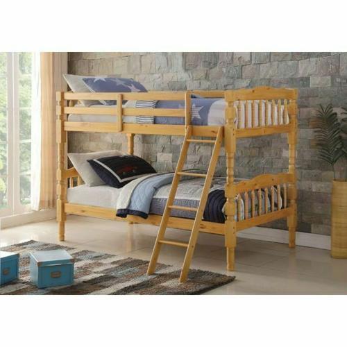 ACME Homestead T/T Bunk Bed - HB/FB - 02299 - Natural