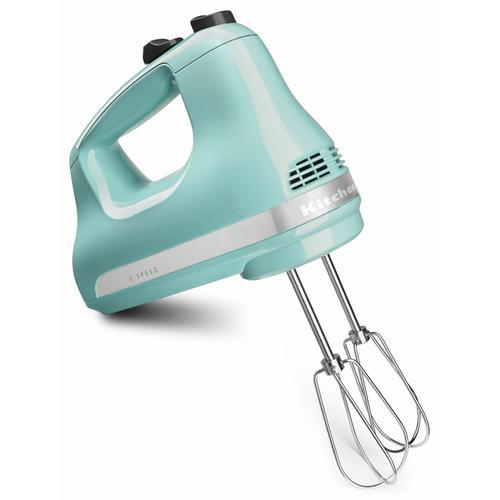 KitchenAid - 5-Speed Ultra Power™ Hand Mixer - Aqua Sky