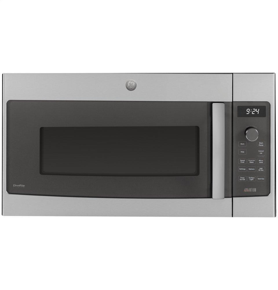 GE ProfileOver-The-Range Oven With Advantium® Technology