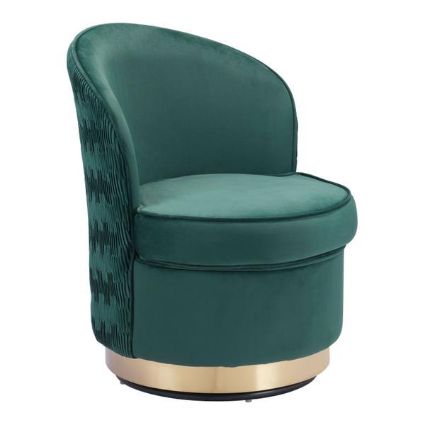 See Details - Zelda Accent Chair Green