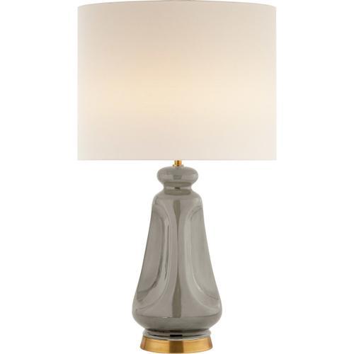 AERIN Kapila 29 inch 60 watt Shellish Gray Table Lamp Portable Light