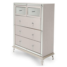 Upholstered 5 Drawer Chest