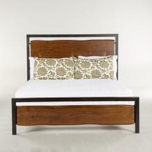Aspen Queen Bed Walnut