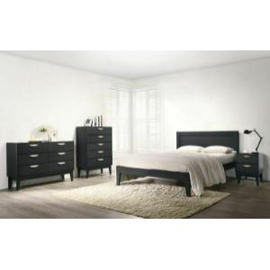 ACME Courtney Queen Bed, Midnight Blue - 31860Q