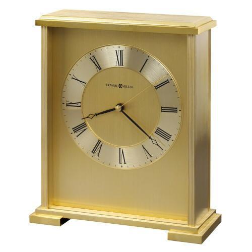 Howard Miller Exton Brass Table Clock 645569