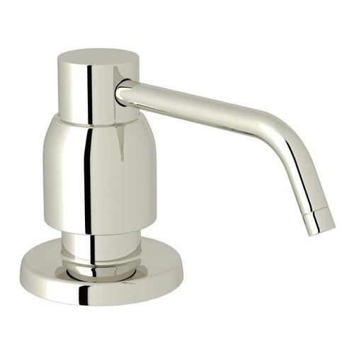 Polished Nickel Perrin & Rowe Holborn Deck Mount Soap Dispenser