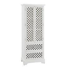 Latrobe White Tall Cabinet