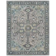 Izmir-Serapi Grey Blue Hand Tufted Rugs