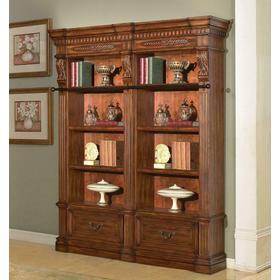 GRAND MANOR GRANADA 2 piece Museum Bookcase (9030 and 9031)