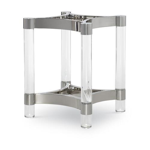 Century Furniture - Acrylic & Metal Dining Table Base for Glass Top