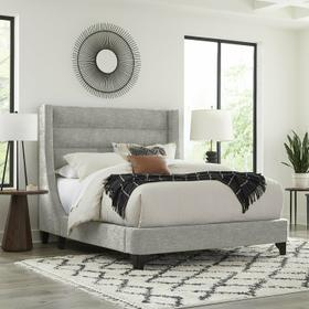 JACOB - LUXE LIGHT GREY King Bed 6/6