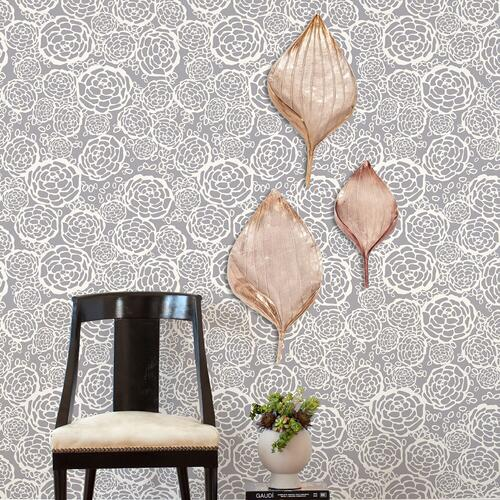 Howard Elliott - Champagne Leaf Wall Decor, Large