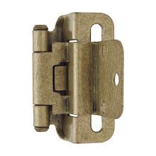See Details - Self-closing, Partial Wrap 3/8 In (10 Mm) Inset hinge