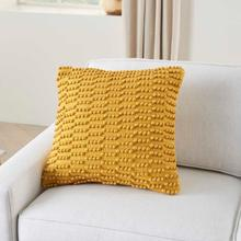 """See Details - Life Styles Gc380 Yellow 18"""" X 18"""" Throw Pillow"""