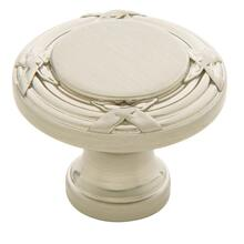 Satin Nickel Round Edinburgh Knob