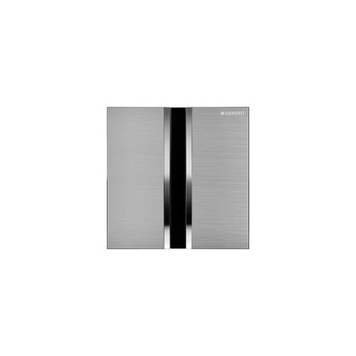 Type 50 Flush plates for in-wall urinal systems Brushed Chrome Finish