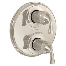 Patience 2-Handle Thermostatic Valve Trim Kit  American Standard - Polished Nickel