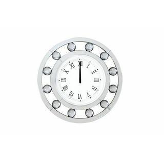 ACME Boffa Wall Clock - 97405 - Mirrored