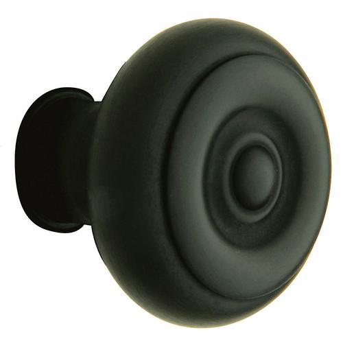 Satin Black 5005 Estate Knob