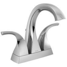 See Details - Chrome Two Handle Centerset Bathroom Faucet