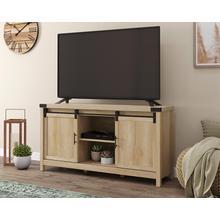 See Details - Orchard Oak TV Credenza with Sliding Doors