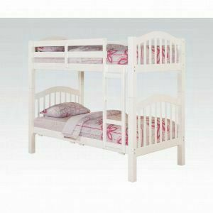 ACME Heartland Twin/Twin Bunk Bed - 02354_KIT - White