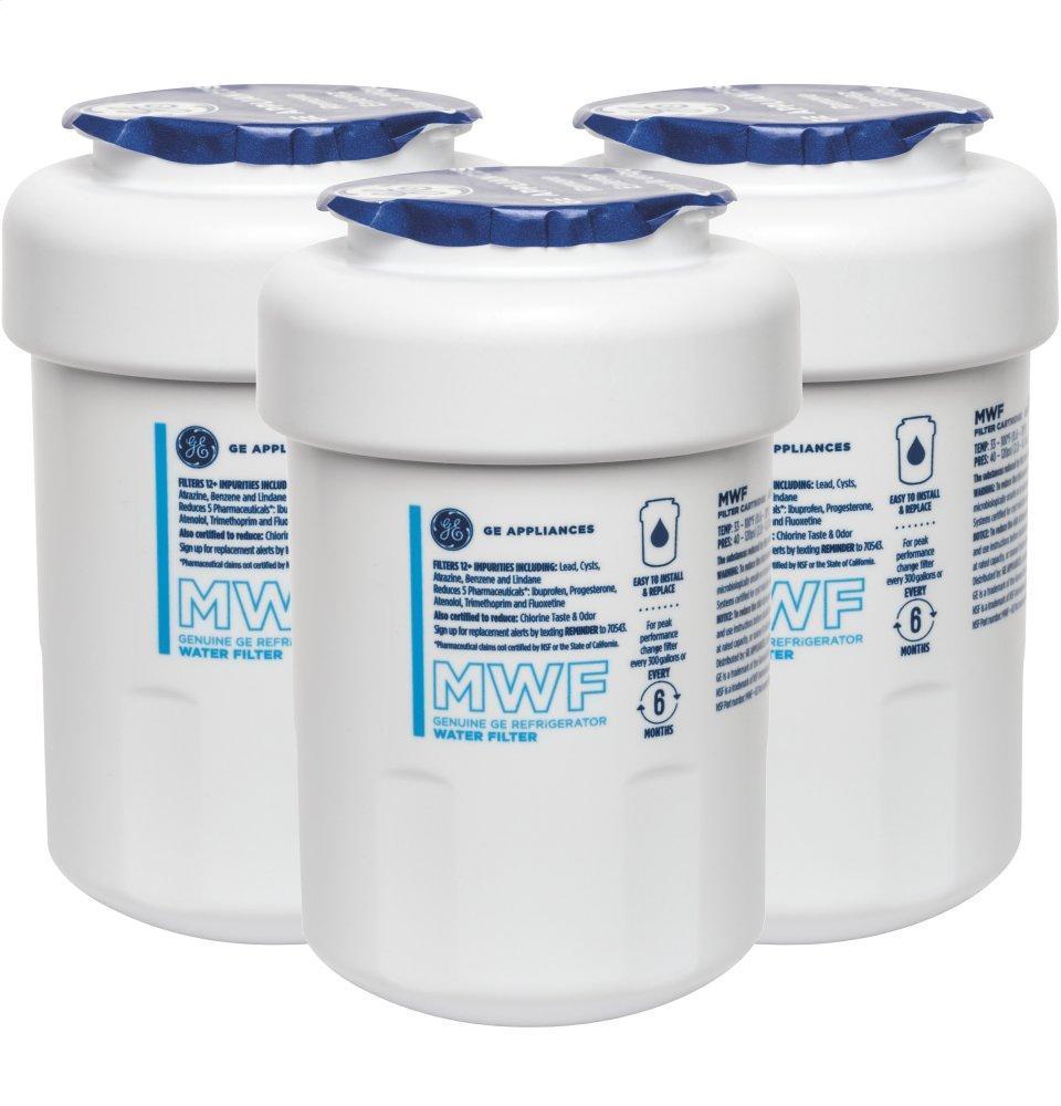 GEMwf Refrigerator Water Filter 3-Pack