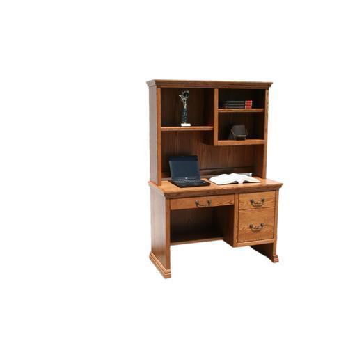 """O-T100 Traditional Oak 45"""" 2-Drawer Junior Computer Desk"""