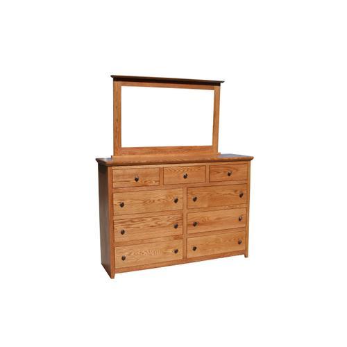 O-S453 Nine Drawer Dresser