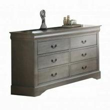 ACME Louis Philippe III Dresser - 25505 - Antique Gray