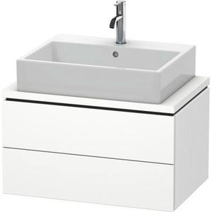 Vanity Unit For Console Compact, White Matte