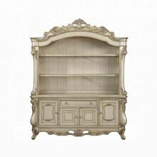 ACME Gorsedd Executive Bookcase - 92744 - Traditional - Wood (Poplar), Wood Veneer (Birch) - Antique White