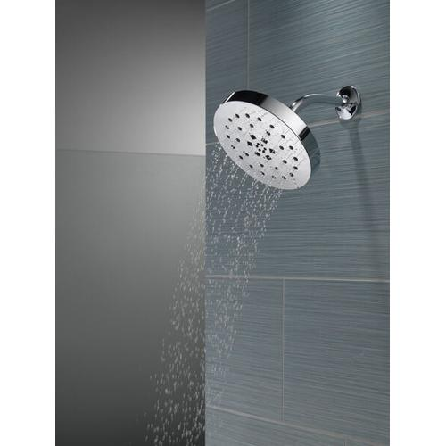 Black Stainless H 2 Okinetic ® 4-Setting Shower Head with UltraSoak