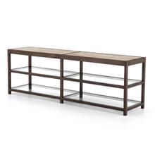 Wray Media Console-cocoa Oak