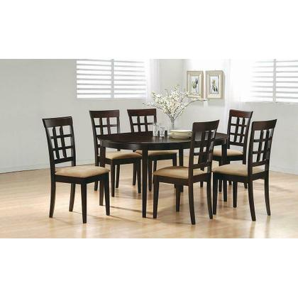 See Details - Gabriel Casual Cappuccino Dining Table