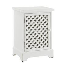 Latrobe White 1 Door Cabinet