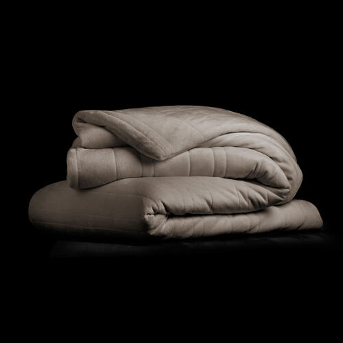 "Malouf Weighted Blanket, 48"" x 72"", 15 lbs, Driftwood"