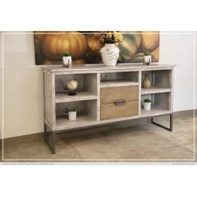 5 Shelves & 2 Drawers, TV Stand