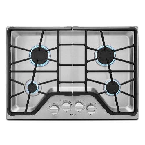 Maytag - 30-inch Wide Gas Cooktop with Power™ Burner