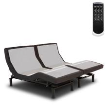 Prodigy 2.0 Adjustable Bed Base with MicroHook Retention System, Charcoal Black Finish, Split King