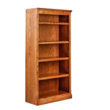 See Details - Forest Designs Mission Oak Bookcase: 30W x 60H x 13D - 48h