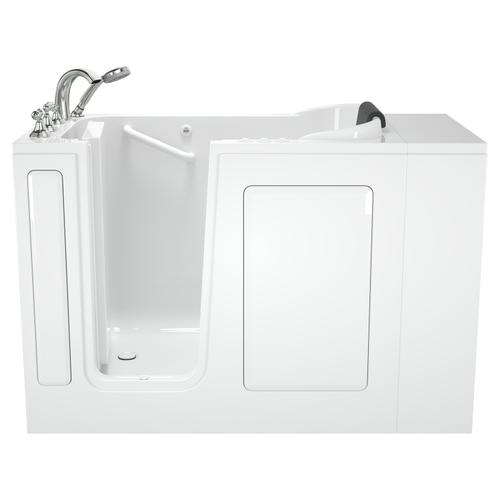 Premium Series  28x48-inch Walk-in Tub  Left-Drain  Combination Massage  American Standard - White