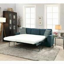 ACME Catherine Sofa w/Sleeper (2 Pillows) - 52293 - Blue Fabric